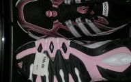 Pink And Black Tennis Shoes 22 Desktop Wallpaper