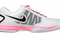 Pink And Black Tennis Shoes 26 Background Wallpaper