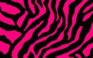 Pink And Black Zebra Print 10 Desktop Background