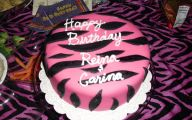 Pink And Black Zebra Print 17 Background Wallpaper