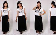 Plain Black Maxi Dress 3 Free Hd Wallpaper