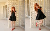 Plain Little Black Dress 31 Wide Wallpaper