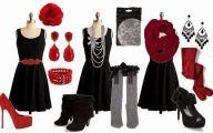 Plain Little Black Dress 32 Background Wallpaper