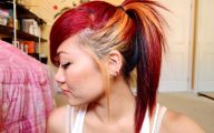 Red And Black Hair Dye 7 Widescreen Wallpaper
