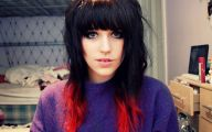Red Black Hair Color Ideas 30 High Resolution Wallpaper