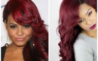 Red Black Hair Color Ideas 9 High Resolution Wallpaper