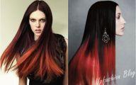Red & Black Hairstyles