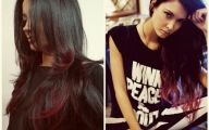 Red & Black Hairstyles