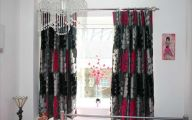 Silver And Black Valances 22 Background