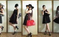 Simple Plain Black Dress 16 Wide Wallpaper