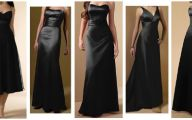 Simple Plain Black Dress 22 Wide Wallpaper
