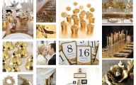 Wedding Colors Black And Gold 20 Background Wallpaper