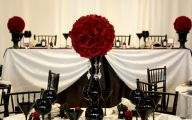 Wedding Colors Red And Black 1 Background Wallpaper