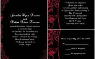 Wedding Colors Red And Black 2 Widescreen Wallpaper