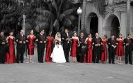 Wedding Colors Red And Black 4 Desktop Background