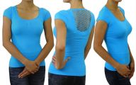 Women's Plain Black T Shirt 1 Widescreen Wallpaper