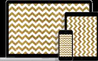 Black And Gold Chevron Wallpaper  10 Wide Wallpaper