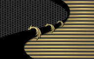 Black And Gold Chevron Wallpaper  13 Wide Wallpaper