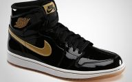 Black And Gold Jordans  15 Widescreen Wallpaper