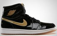 Black And Gold Jordans  16 Hd Wallpaper