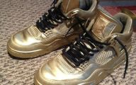 Black And Gold Jordans  19 Widescreen Wallpaper