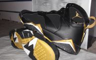 Black And Gold Jordans  35 Hd Wallpaper