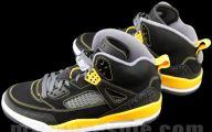 Black And Gold Jordans  8 Desktop Background