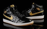 Black And Gold Jordans  9 Hd Wallpaper