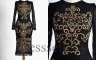 Black And Gold Prom Dresses  12 Cool Wallpaper