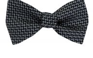 Black And Silver Bow Tie  17 Background