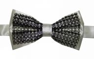 Black And Silver Bow Tie  21 Wide Wallpaper