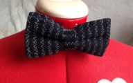 Black And Silver Bow Tie  4 Cool Hd Wallpaper