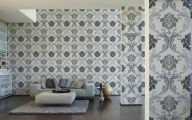 Black And Silver Damask Wallpaper  12 Background