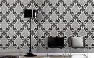 Black And Silver Damask Wallpaper  24 High Resolution Wallpaper