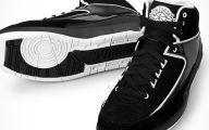 Black And Silver Jordan 2  15 Desktop Background