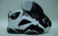 Black And Silver Jordan 7  37 Cool Wallpaper
