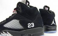 Black And Silver Jordan 8  34 Widescreen Wallpaper