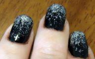 Black And Silver Nails  12 Hd Wallpaper