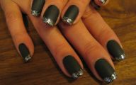Black And Silver Nails  14 Cool Wallpaper