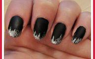 Black And Silver Nails  2 Hd Wallpaper