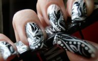 Black And Silver Nails  22 Background Wallpaper