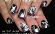 Black And Silver Nails  24 Cool Hd Wallpaper