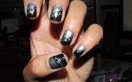 Black And Silver Nails  27 Hd Wallpaper