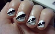 Black And Silver Nails  8 High Resolution Wallpaper