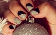 Black And Silver Nails  9 Background Wallpaper