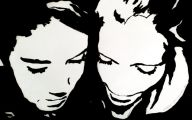 Black And White Art  37 Widescreen Wallpaper