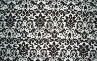 Black And White Damask Wallpaper 23 Background