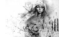 Black And White Drawings  16 High Resolution Wallpaper