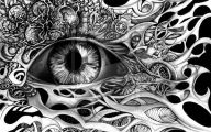 Black And White Drawings  20 Hd Wallpaper