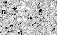 Black And White Drawings  7 High Resolution Wallpaper